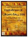 Food4Africa Ubuntu Ball 2015