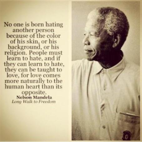 The wisdom of Mandela